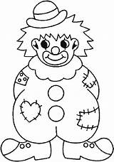 Clown Coloring Pages Clothes Wearing Clowns Face Colouring Drawing Printable Happy Colorings Fish Mexican Getcolorings Getdrawings sketch template
