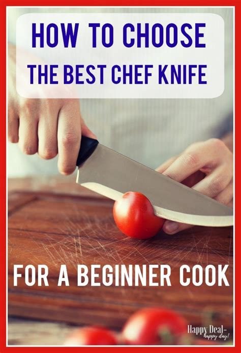 knife chef beginner happydealhappyday cook choose