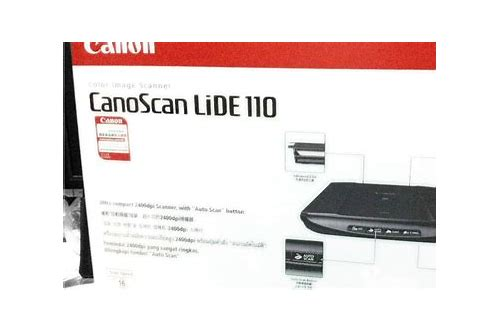 Canon canoscan lide 110 scanner driver 17 0 3 free download