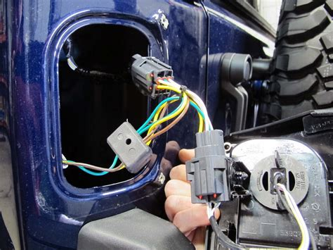 Tow Ready Custom Fit Vehicle Wiring For Jeep Wrangler