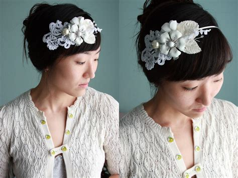 diy wedding headbands diy wedding headband wedding and bridal inspiration