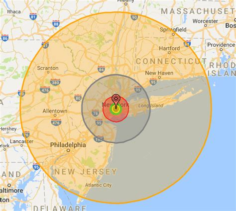 what would happen if a 1000 megaton nuclear bomb was
