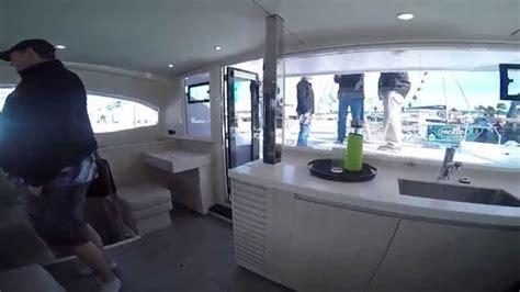 Miami International Boat Show Youtube by Leopard 40 Catamaran Miami International Boat Show 2015