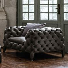 cloud 7 sofa upholstered in shimmering silver grey velour