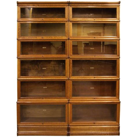 Globe Wernicke Bookcase Oak For Sale At 1stdibs