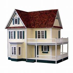 Victoria39s Farmhouse Dollhouse Kit Real Good Toys