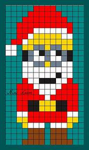 les 25 meilleures idees de la categorie pixel art noel sur With dessin avec carreaux