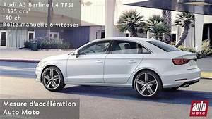 Audi A3 Berline 2016 : vid o audi a3 berline 1 4 tfsi 0 100 cam ra embarqu e auto moto ~ Gottalentnigeria.com Avis de Voitures