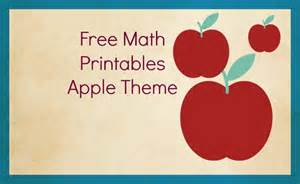 Free Preschool Apple Printables