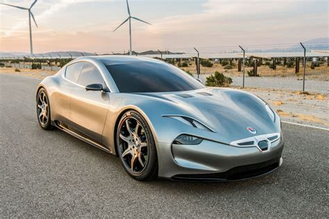 New Car Electrical Features by Fisker Picks Ces For New Electric Car Reveal The Verge