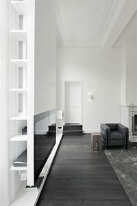 le parquet noir en 45 super photos With parquet gris salon
