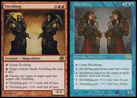 mtg morph deck list mtg vault mighty morphling power rangers