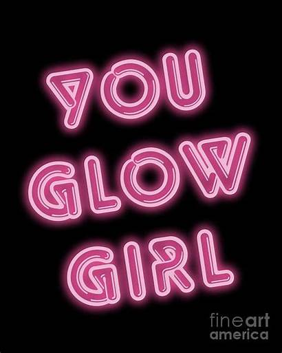 Neon Pink Glow Sign Signs Quotes Aesthetic