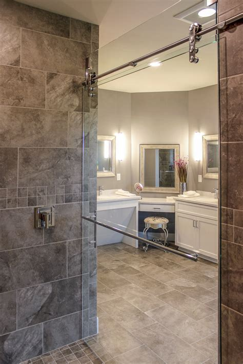 elegant master bath degnan design build remodel