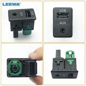 Leewa Vw Oem Aux Usb Switch Socket Interface Wiring