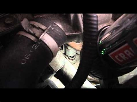 replace  vehicle speed sensor vss youtube