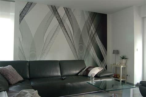 Wandgestaltung Mit Streifen by Tapeten Streifen Farbe Wandgestaltung