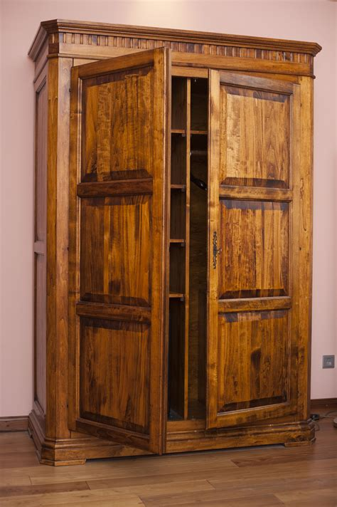 Large Wardrobe Cabinet by Free Stock Photo 8908 Large Rustic Wooden Wardrobe
