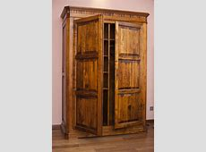 Free Stock Photo 8908 Large old rustic wooden wardrobe