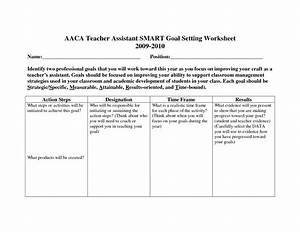 best photos of sample employee goal setting employee With smart goals template for employees