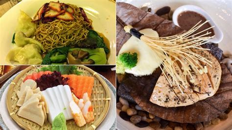 ridiculously trying hard sg vegetarian dishes non mothership pore events veg