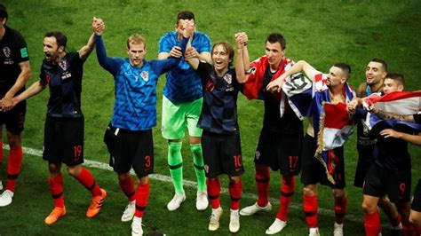 How English Media Taunts Fuelled Croatia Fifa World