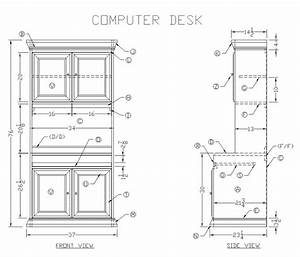 Learn How to Build a Wooden Computer Desk - Free