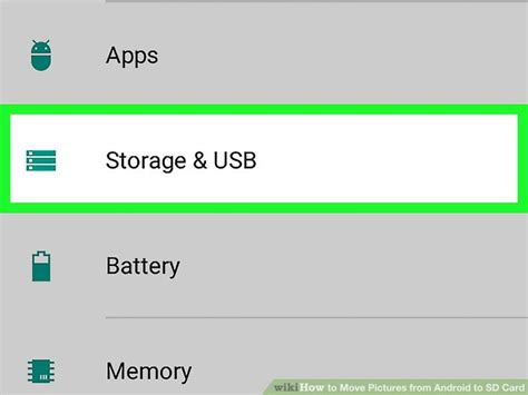 3 ways to move pictures from android to sd card wikihow