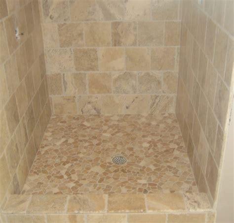 easy to install kitchen backsplash kbrs shower base pan with pebble tile tile for shower