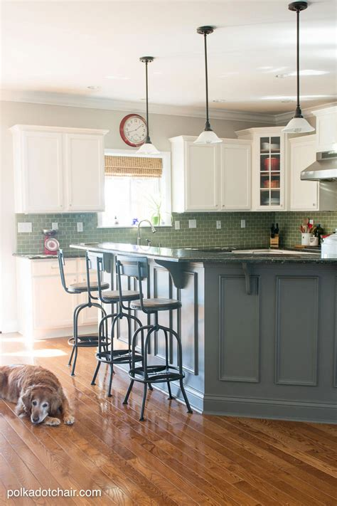 painted kitchen cabinet ideas  kitchen makeover reveal