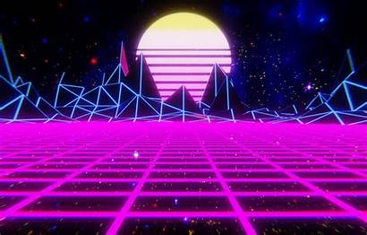 Retro Wave Wallpapers Neon Sun Retrowave Synthwave