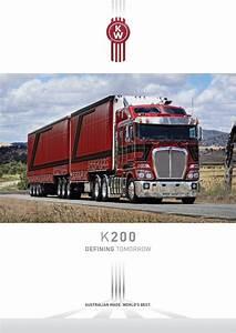 Kenworth K200 Brochure K200-0316w By Paccar Australia