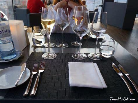restaurant table settings le loft restaurant vienna austria travel to eat