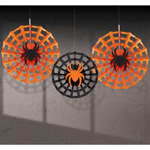 Halloween Ceiling Decoration Ideas by ハロウィン 装飾 飾り デコレーション ホラー 恐怖系 グッズ 蜘蛛と蜘蛛の巣の吊り 40366 アカムス