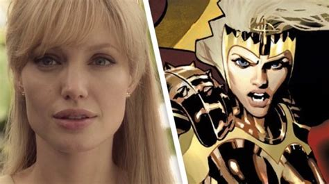Angelina Jolie In Marvel - Angelina Jolie Movies