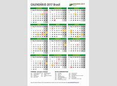 CALENDÁRIO 2017 para IMPRIMIR com feriados