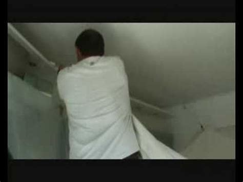 plafond tendu methode de pose d un faux plafond en plafond tendu pvc