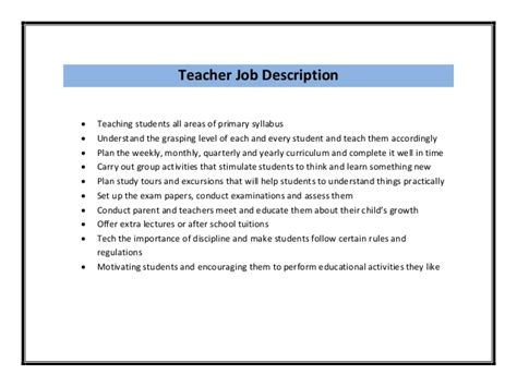 Student Teaching Resume Description by Resume Sle Pdf