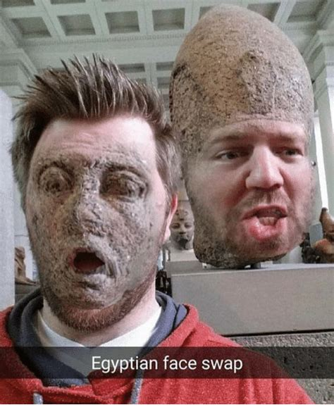 Face Switch Meme - egyptian face swap face swap meme on me me
