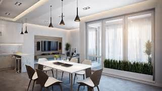 Interior Design For Apartment Living Room by Open Living Room Apartment Interior Design Ideas