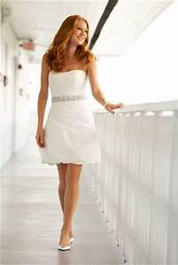 Elegant and beautiful cheap short beach wedding dresses for Short white beach wedding dresses