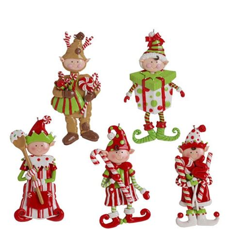 elf conga  christmas tabletop decoration dancing candy