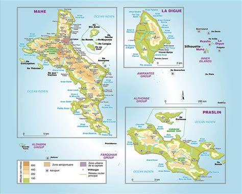 Carte Du Monde Avec Les Seychelles by Location De Bateaux Aux Seychelles
