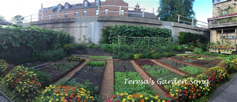 Teresa's Garden Song Urban Gardening  Farming  Tour Of