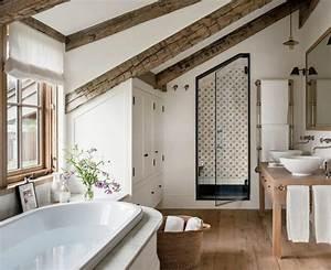 idee salle de bain sous pente maison design bahbecom With idee salle de bain sous pente