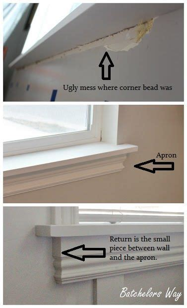 Inner Window Sill by How To Install A Window Sill And Trim Projects For The