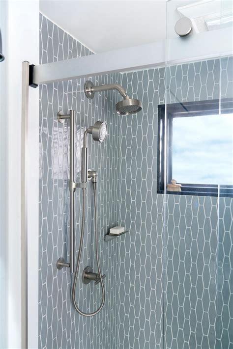 sunny shower frameless sliding doors   hgtv baths design sunny shower