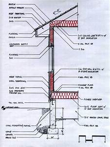 House Exterior Wall Construction Diagram