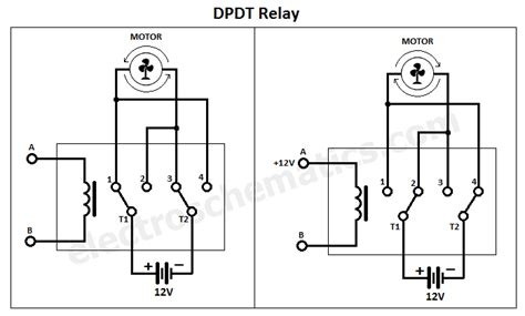 Dpdt Relay Double Pole Throw