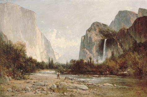 File:Thomas Hill - Yosemite, Bridal Veil Falls.jpg ...